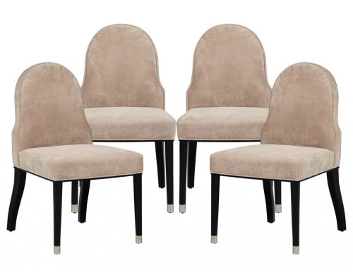 Set of 4 Carlyle Chairman Side Chairs