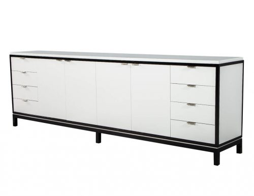 Custom Modern Media Cabinet Sideboard by Carrocel