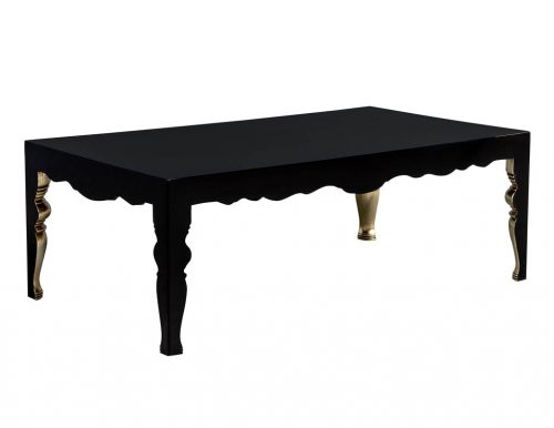 Randall Tysinger Mons Cocktail Table in Black
