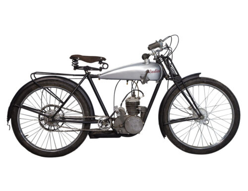 Vintage Radior Motorcycle Post War French