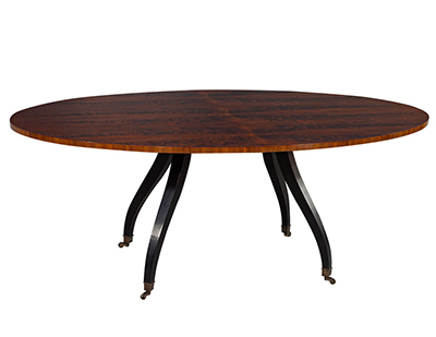 Modern Round Marble Dining Table