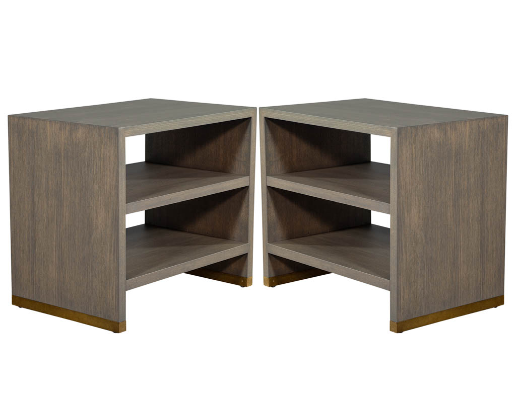 CE-3203-Pair-of-Oak-Console-End-Tables-Distressed-001