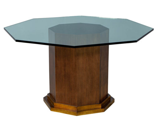 Carrocel Custom Octagon Glass Table
