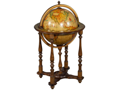 Globe Stand with Hidden Bar
