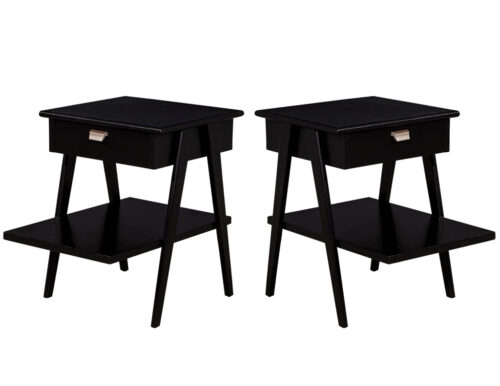 Mid-Century Modern End Tables in the manner of Kipp Stewart & Stewart MacDougall