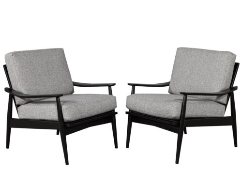Pair of Vintage Mid Century Lounge Chairs
