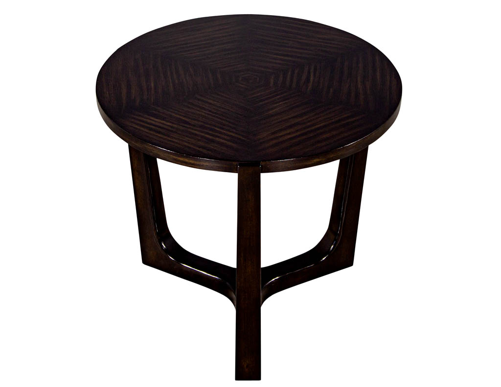 CE-3304-Modern-Round-Walnut-Side-Table-001