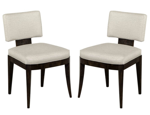 Pair of Custom Jonsie Contemporary Side Chairs