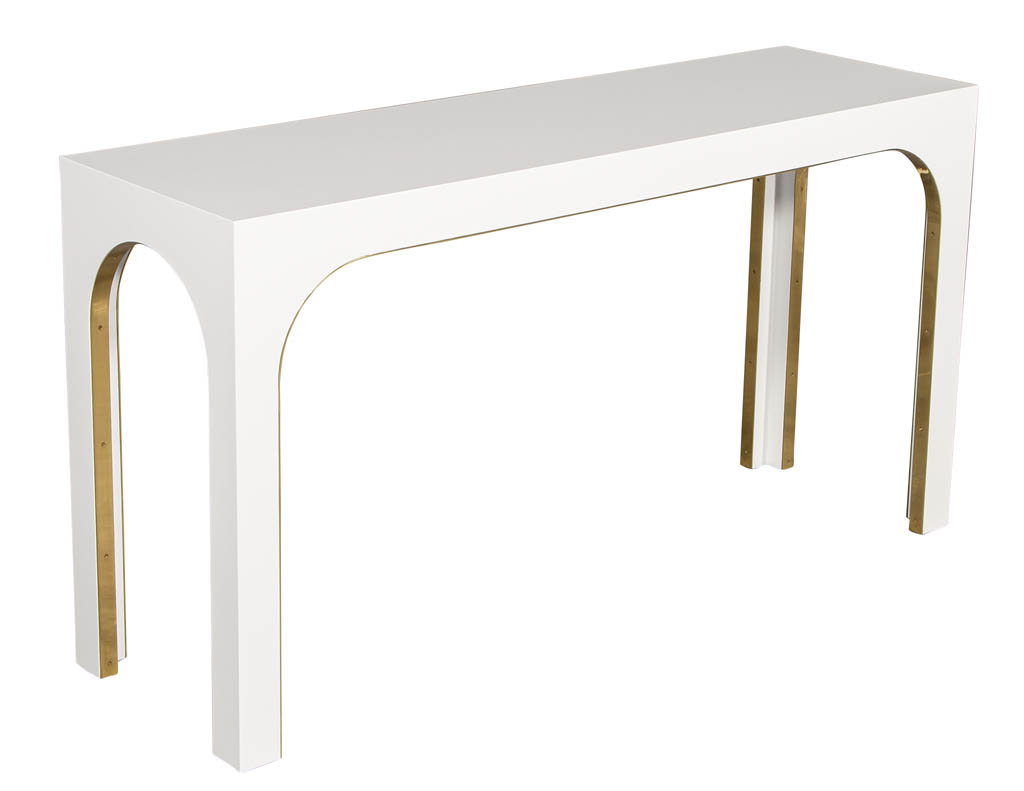 CE-3307-Sleek-Modern-White-Console-Metal-Accents-001