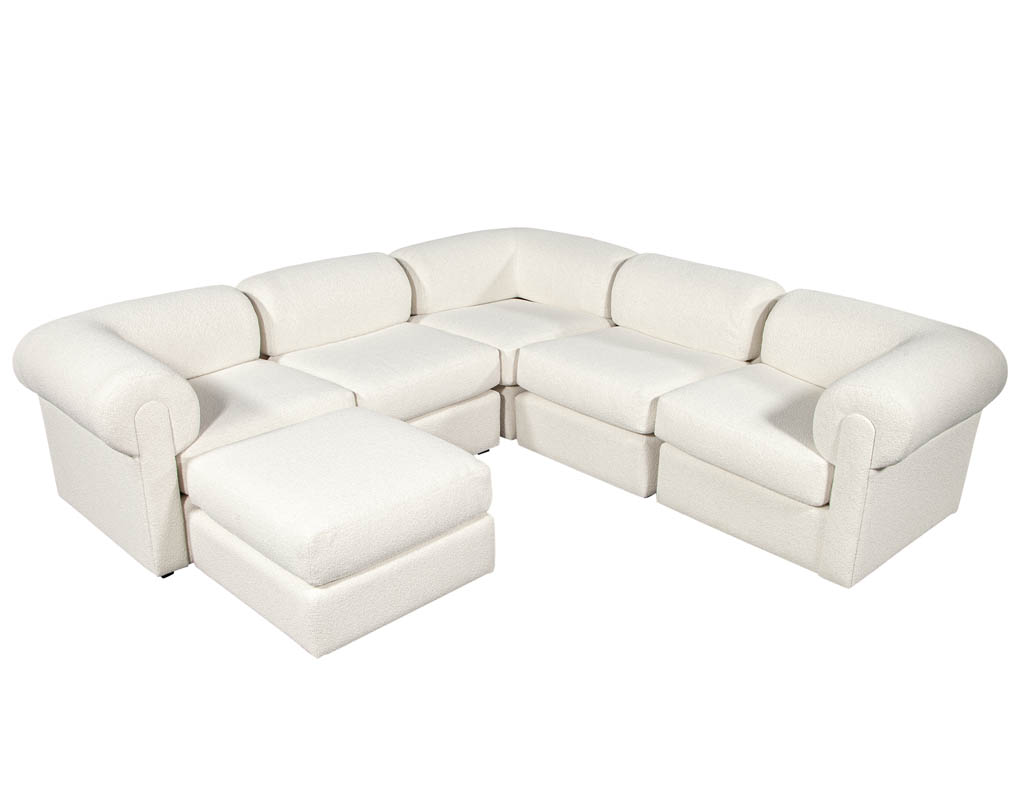 LR-3281-Mid-Century-Modern-Modular-Sectional-Sofa-by-Directional-Boucle-Fabric-001