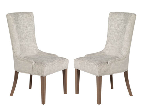 Pair of Contemporary Custom Opus Accent Chairs