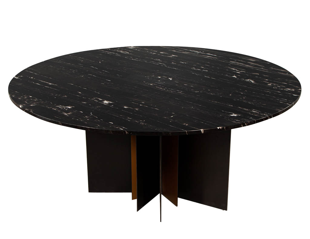 DS-5163-Modern-Round-Black-Stone-Top-Dining-Table-001
