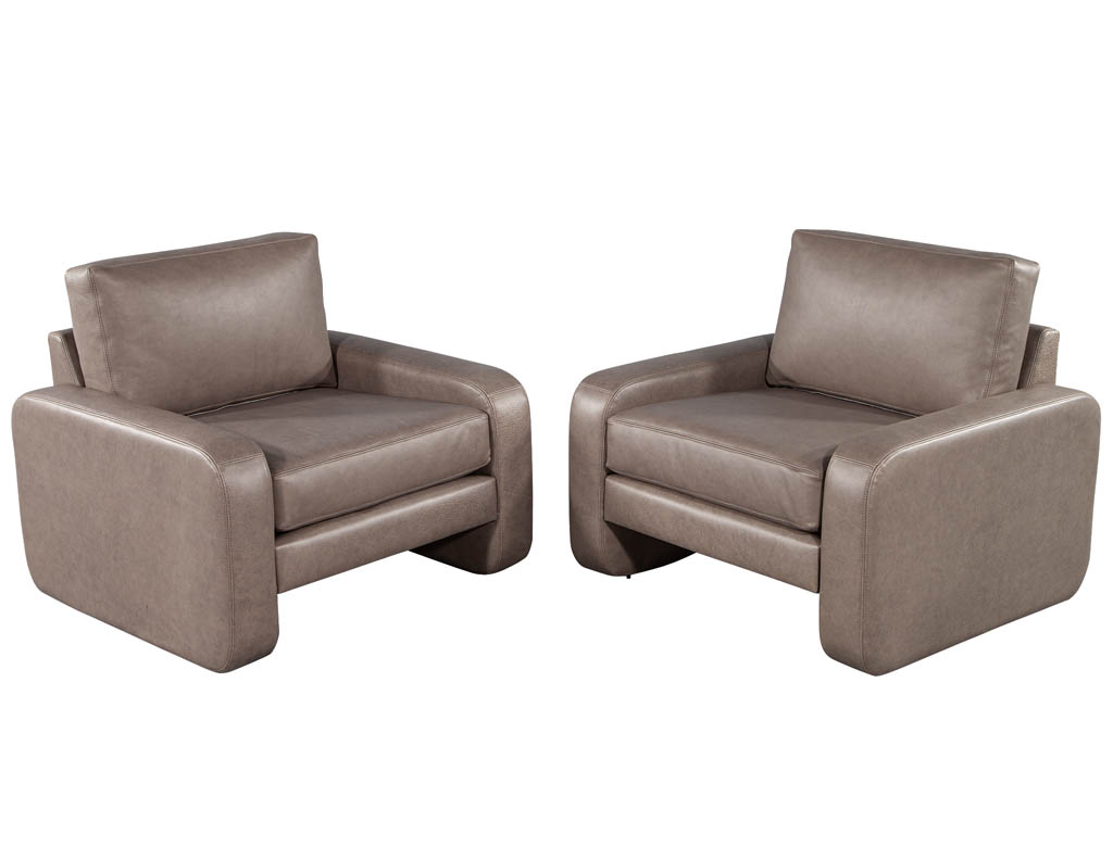 LR-3300-Pair-Vintage-Mid-Century-Modern-Leather-Lounge-Chairs-Style-of-Paul-McCobb-001