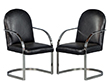 Pair of Brno Flat-Bar Chairs in the manner of Mies Van Der Rohe