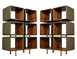 Carrocel Custom Ribbed Facade Chest of Drawers